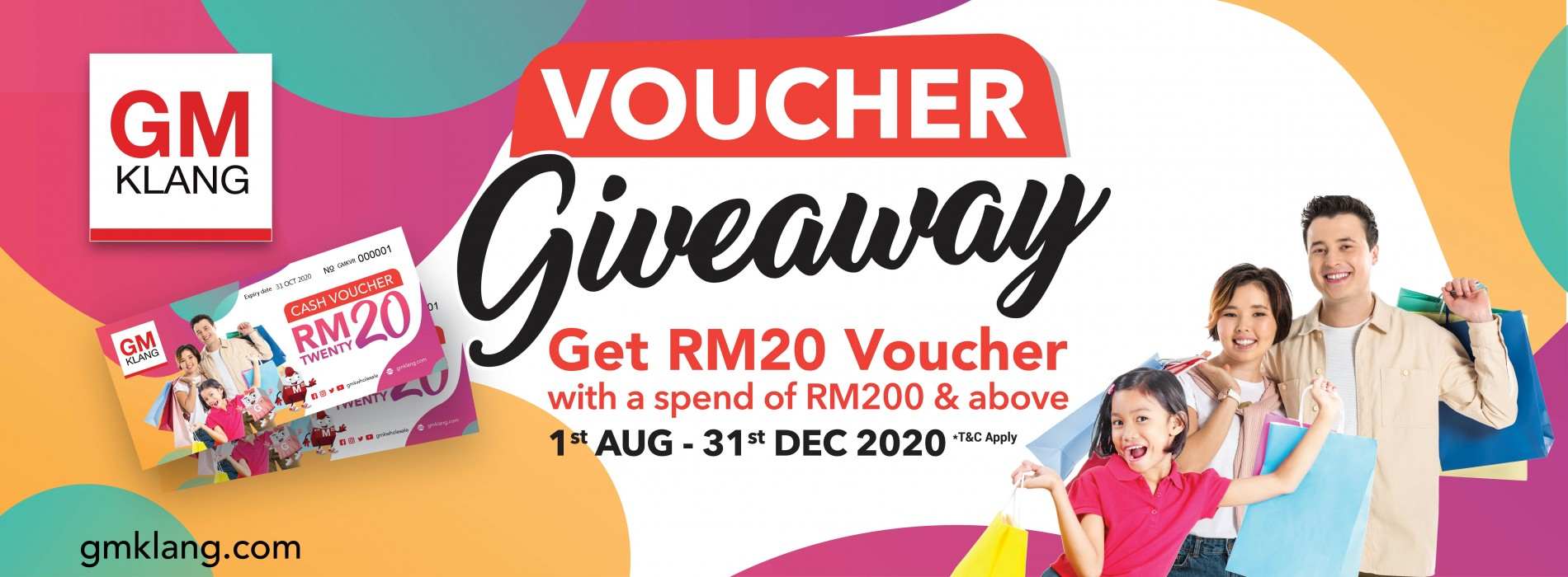 2020 RM 20 Lively Month Campaign