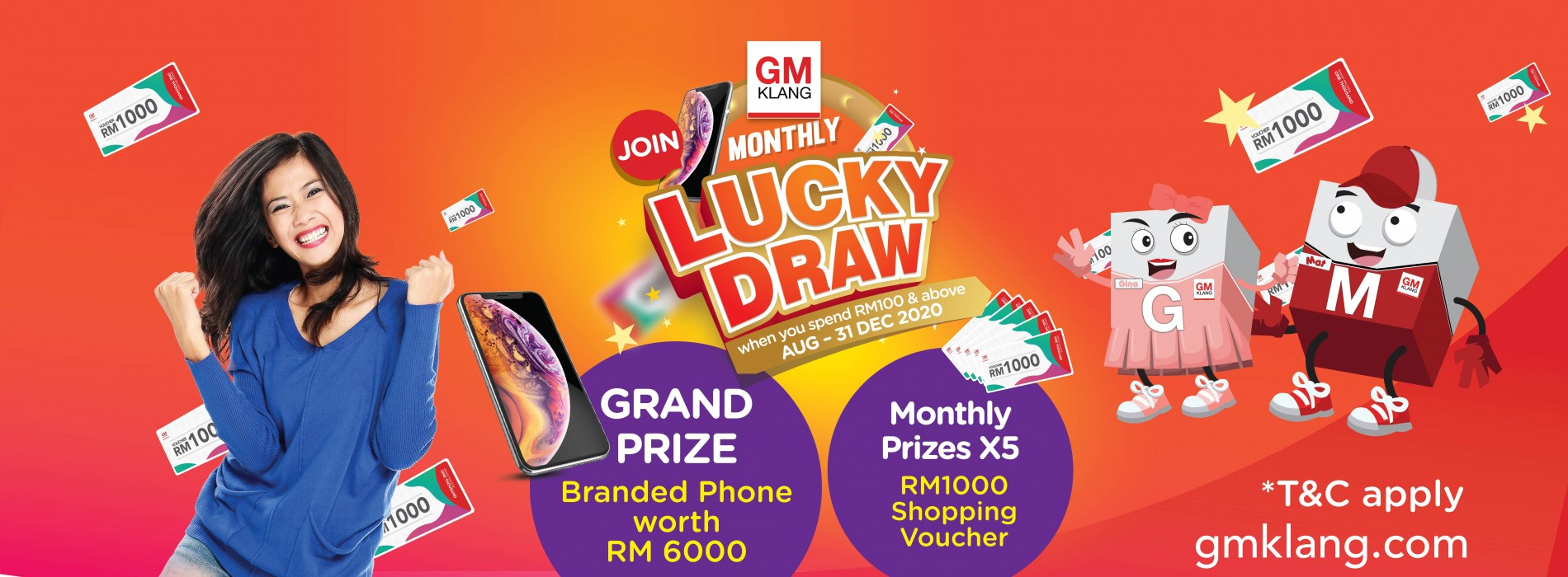 2020 Lucky Draw Lively Month Campaign