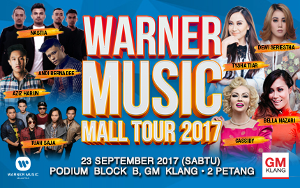 2017 Warner Music Mall Tour