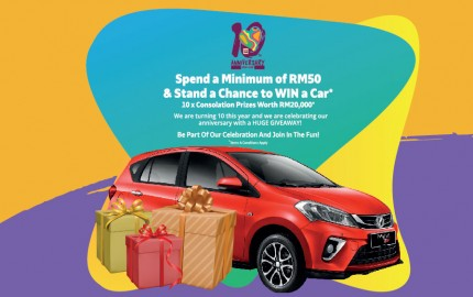 GM KLANG GRAND PRIZE LUCKY DRAW 2019!