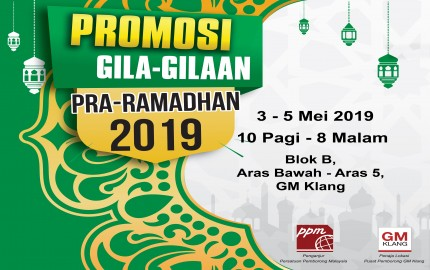 PPM Pre Ramadhan Crazy Promotion 2019