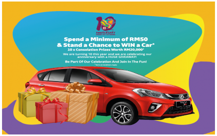 GM Klang Grand Prize Lucky Draw 2019